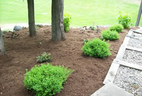 Landscaping job - Cutting Edge Caretaking