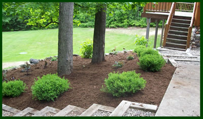 Landscaping job in Harbor Springs, MI